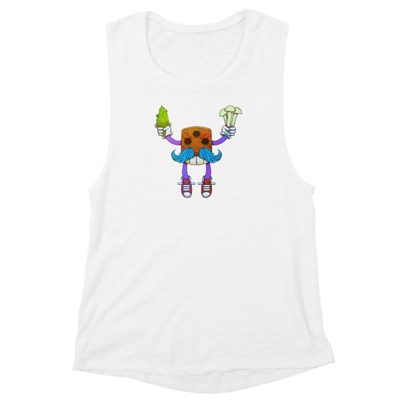 Mr. Medi Women's Muscle Tank by donvagabond's Artist Shop