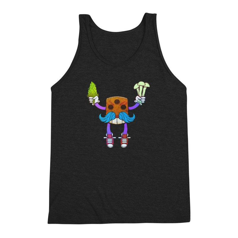 Mr. Medi Men's Triblend Tank by donvagabond's Artist Shop