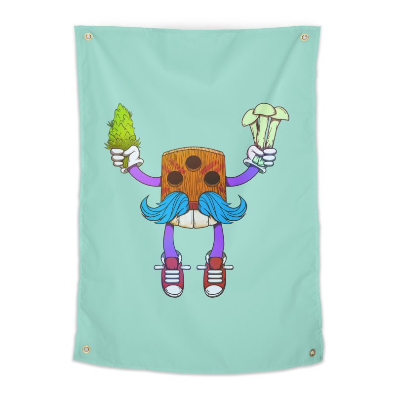Mr. Medi Home Tapestry by donvagabond's Artist Shop