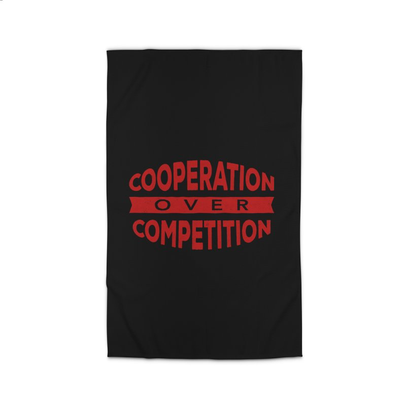 Cooperation Over Competition Home Rug by Don Vagabond's Artist Shop