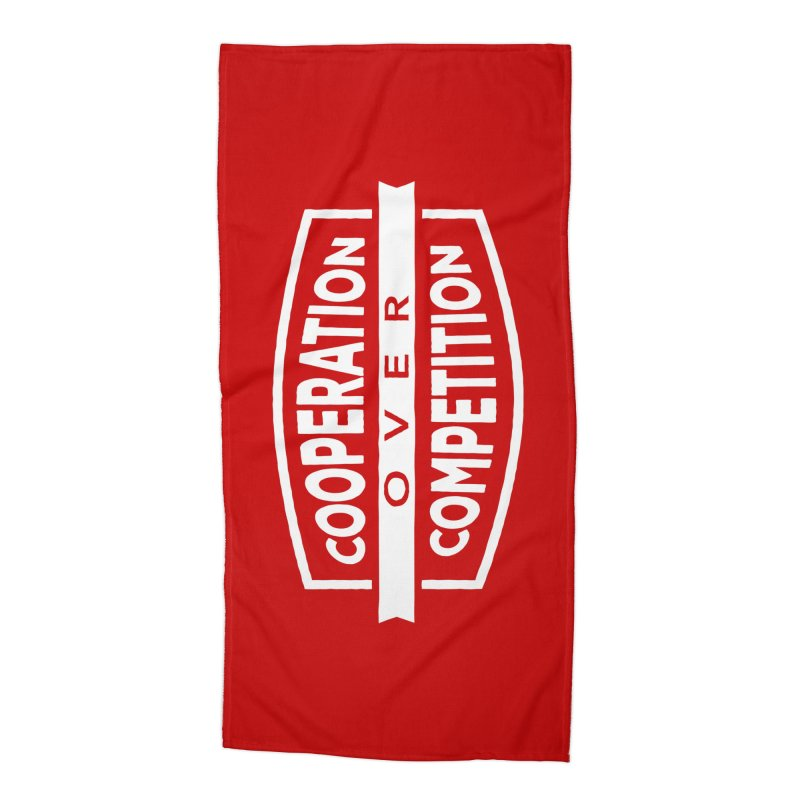 Cooperation Over Competition variant Accessories Beach Towel by donvagabond's Artist Shop