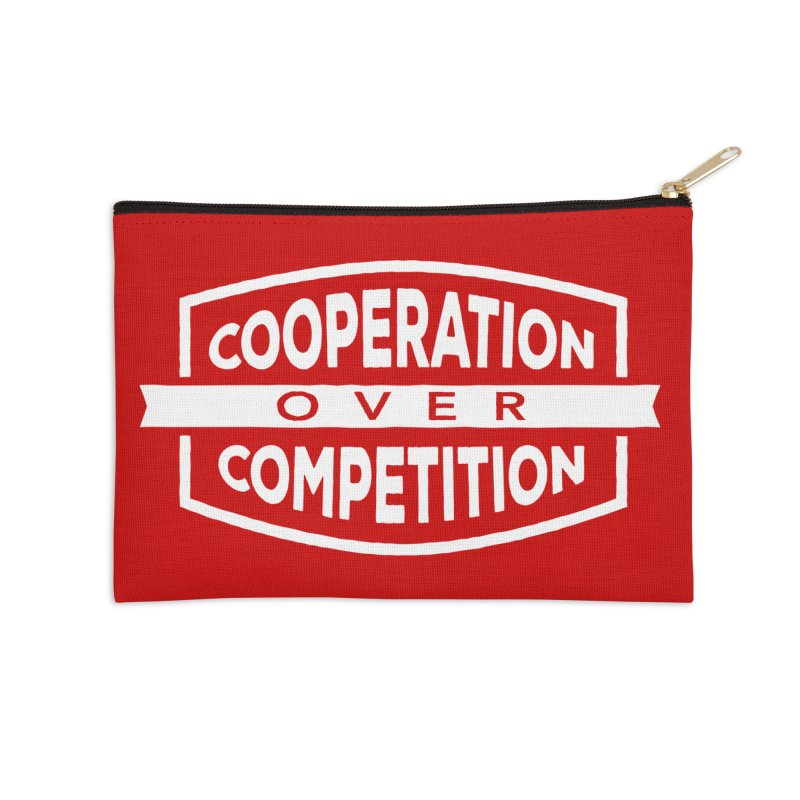 Cooperation Over Competition variant Accessories Zip Pouch by donvagabond's Artist Shop