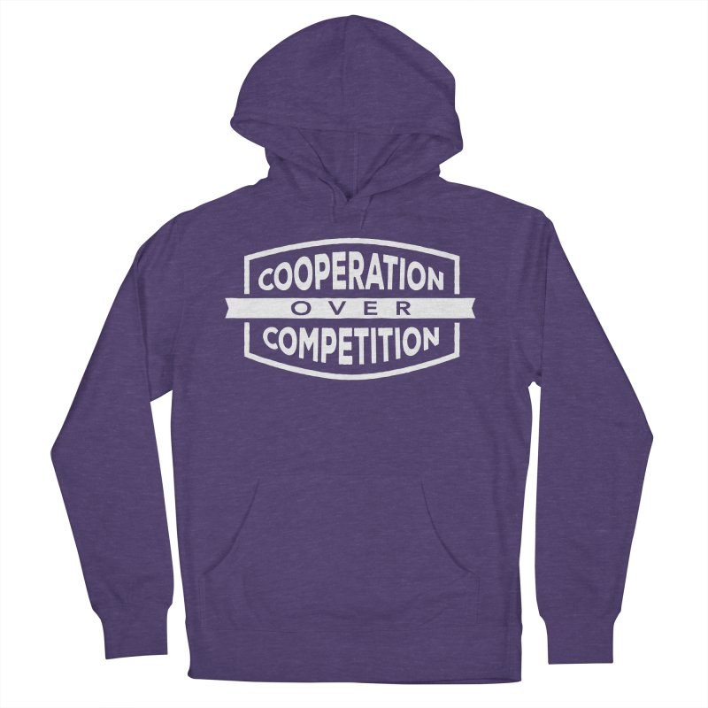 Cooperation Over Competition variant Men's Pullover Hoody by donvagabond's Artist Shop