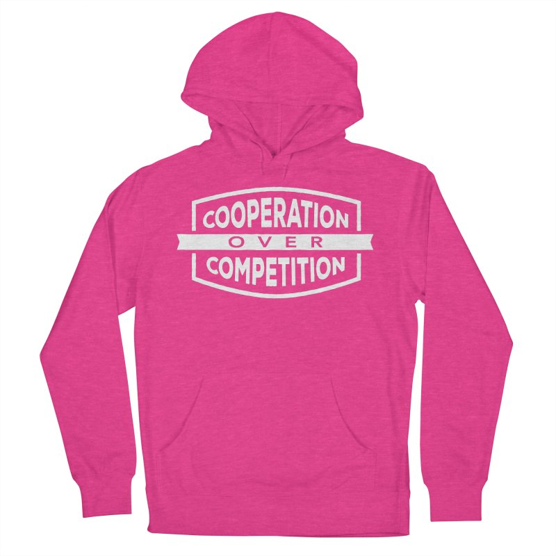 Cooperation Over Competition variant Men's French Terry Pullover Hoody by donvagabond's Artist Shop