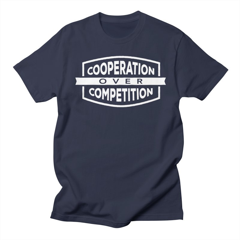Cooperation Over Competition variant Men's Regular T-Shirt by donvagabond's Artist Shop
