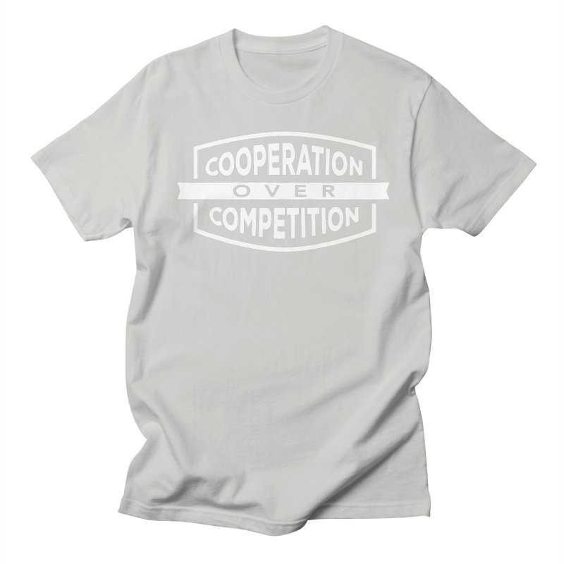 Cooperation Over Competition variant Men's T-Shirt by donvagabond's Artist Shop