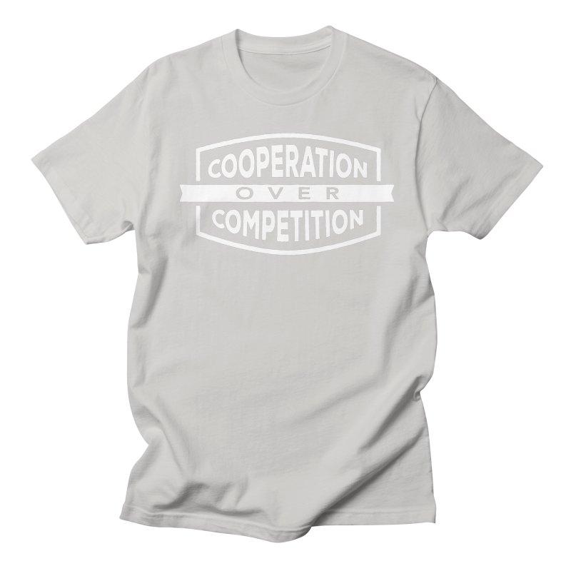 Cooperation Over Competition variant Men's Regular T-Shirt by Don Vagabond's Artist Shop