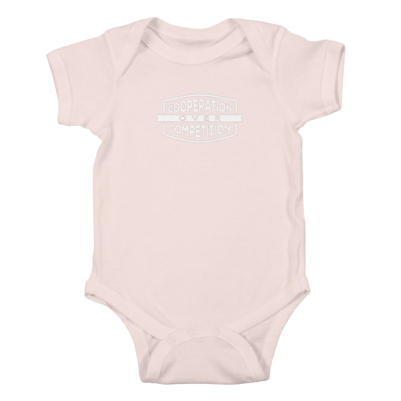 Cooperation Over Competition variant Kids Baby Bodysuit by donvagabond's Artist Shop
