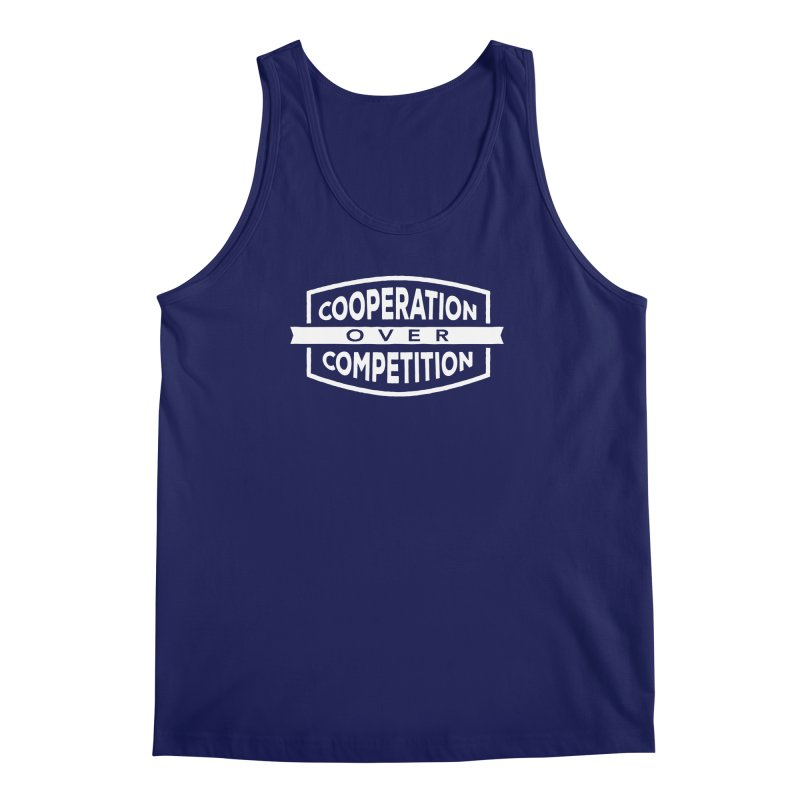 Cooperation Over Competition variant Men's Regular Tank by donvagabond's Artist Shop