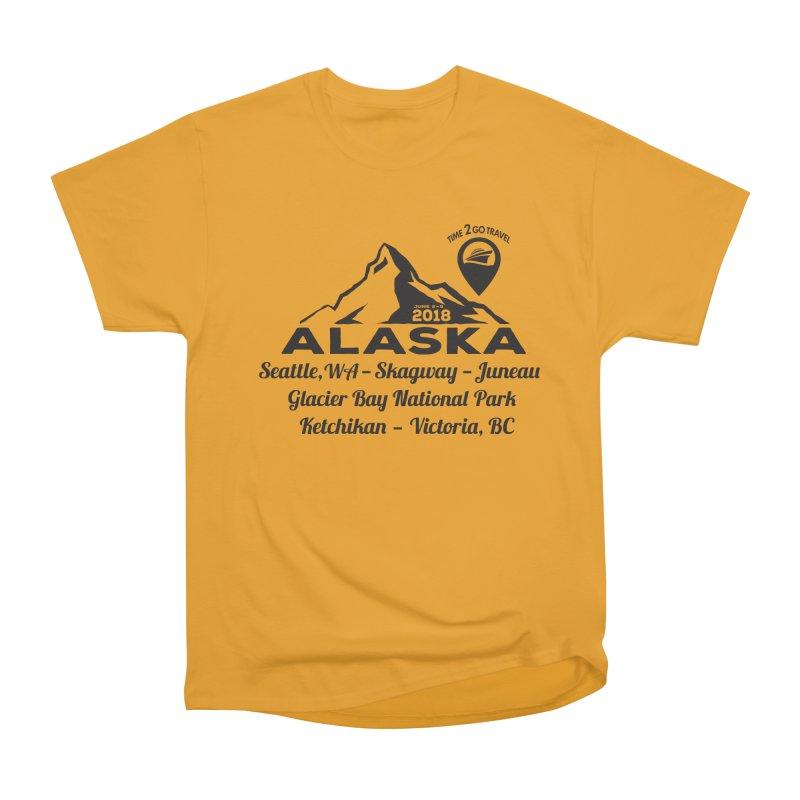 Time 2 Go Alaska Men's Classic T-Shirt by donvagabond's Artist Shop