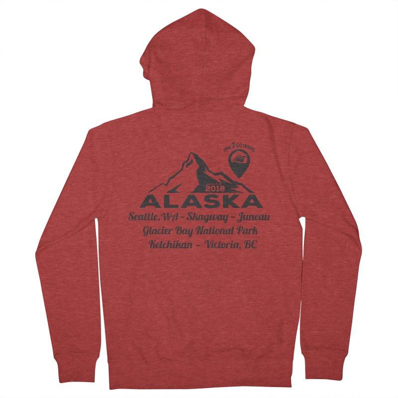 Time 2 Go Alaska Women's Zip-Up Hoody by donvagabond's Artist Shop