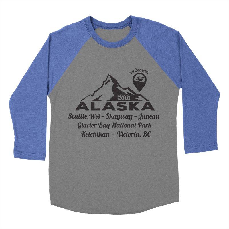 Time 2 Go Alaska Women's Baseball Triblend T-Shirt by donvagabond's Artist Shop