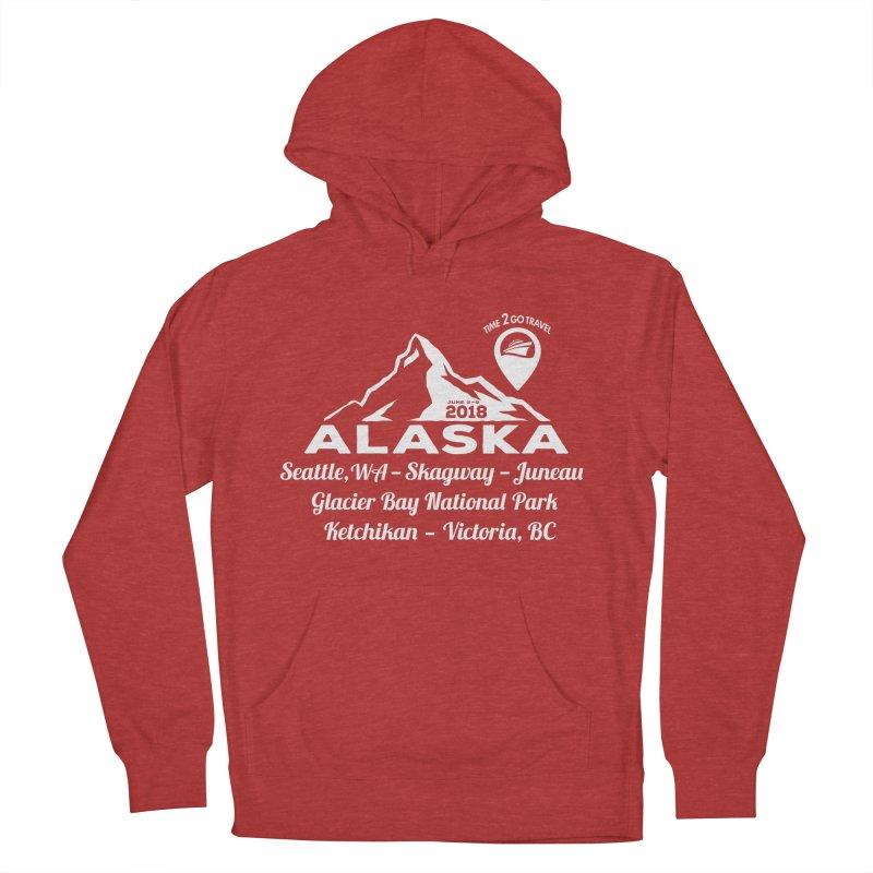 Time 2 Go Alaska white Women's Pullover Hoody by donvagabond's Artist Shop