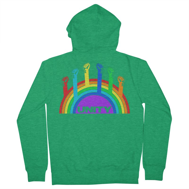 Unity Women's Zip-Up Hoody by donvagabond's Artist Shop