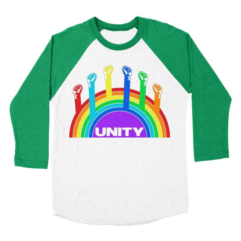Unity Men's Baseball Triblend T-Shirt by donvagabond's Artist Shop