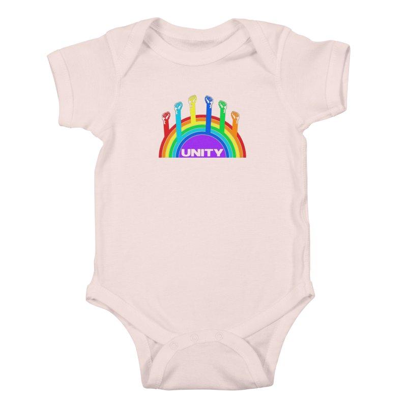 Unity Kids Baby Bodysuit by donvagabond's Artist Shop