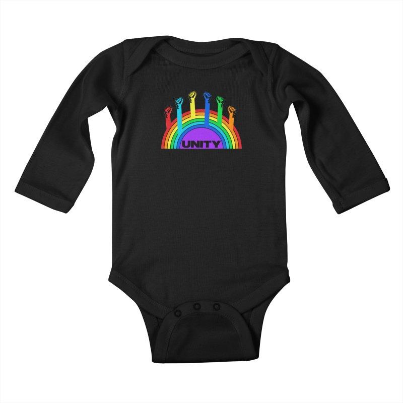 Unity Kids Baby Longsleeve Bodysuit by donvagabond's Artist Shop