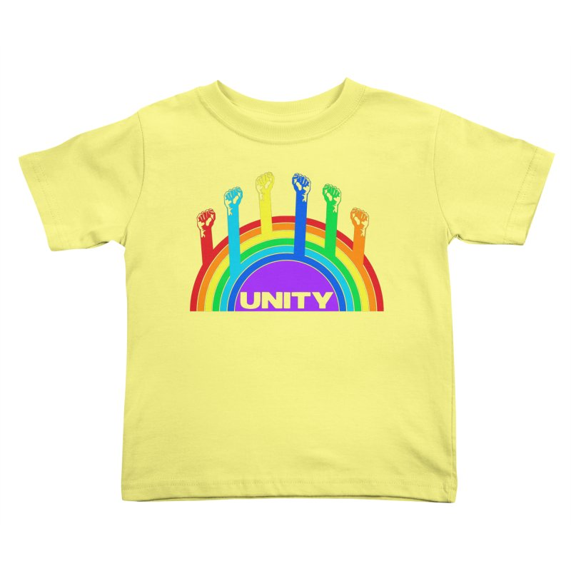 Unity Kids Toddler T-Shirt by donvagabond's Artist Shop