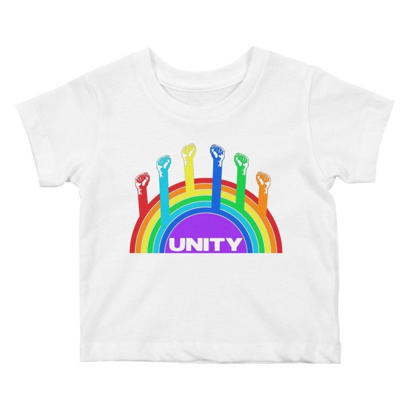 Unity Kids Baby T-Shirt by donvagabond's Artist Shop