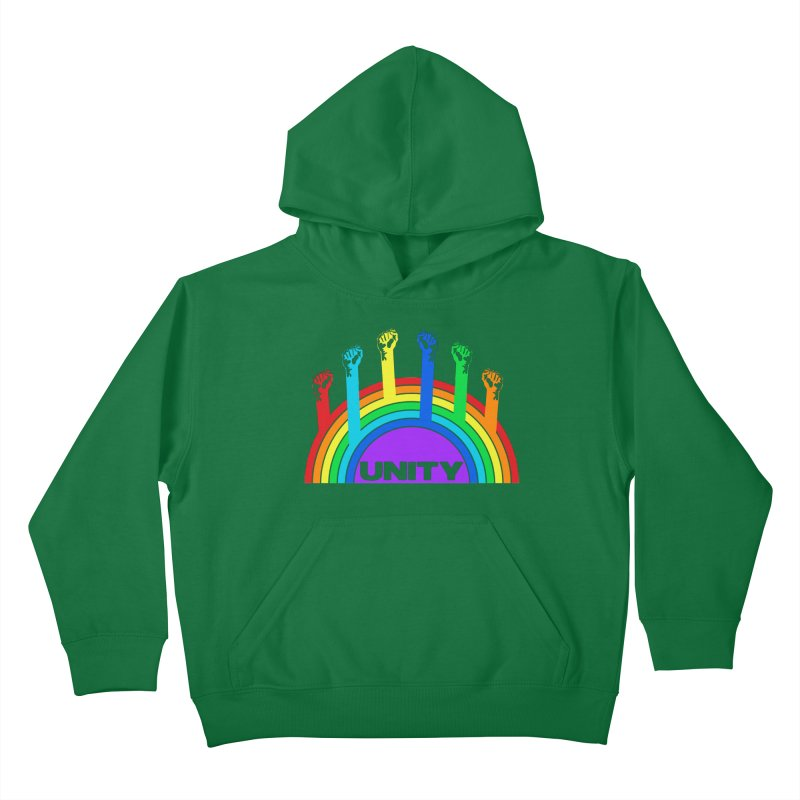 Unity Kids Pullover Hoody by donvagabond's Artist Shop