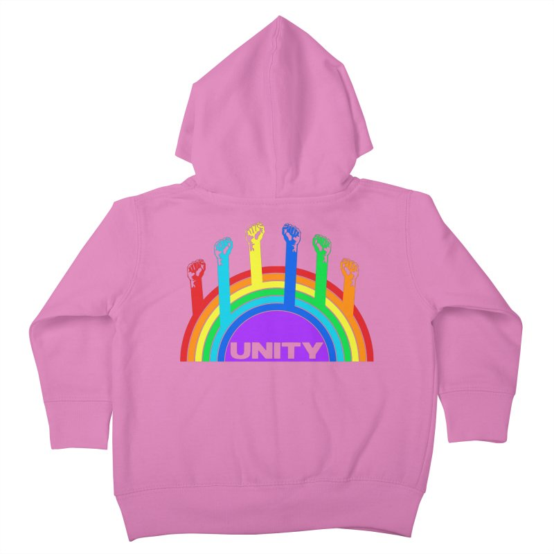 Unity Kids Toddler Zip-Up Hoody by donvagabond's Artist Shop