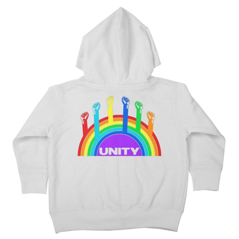 Unity Kids Toddler Zip-Up Hoody by donvagabond's Artist Shop
