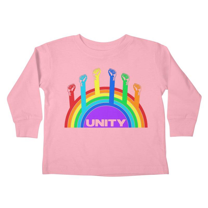 Unity Kids Toddler Longsleeve T-Shirt by donvagabond's Artist Shop