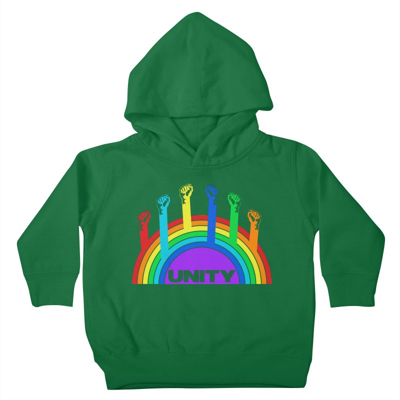 Unity Kids Toddler Pullover Hoody by donvagabond's Artist Shop