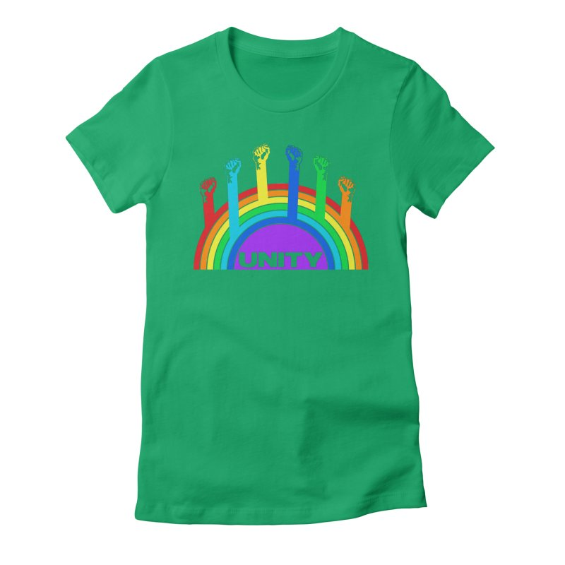 Unity Women's Fitted T-Shirt by donvagabond's Artist Shop