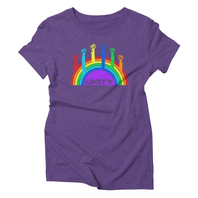 Unity Women's Triblend T-shirt by donvagabond's Artist Shop