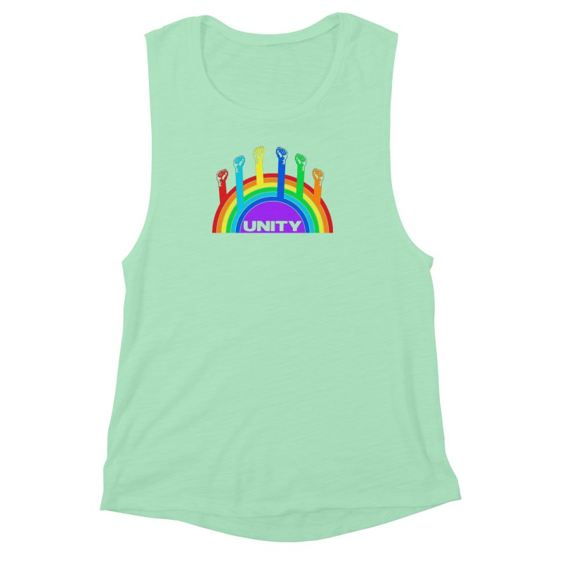 Unity Women's Muscle Tank by donvagabond's Artist Shop