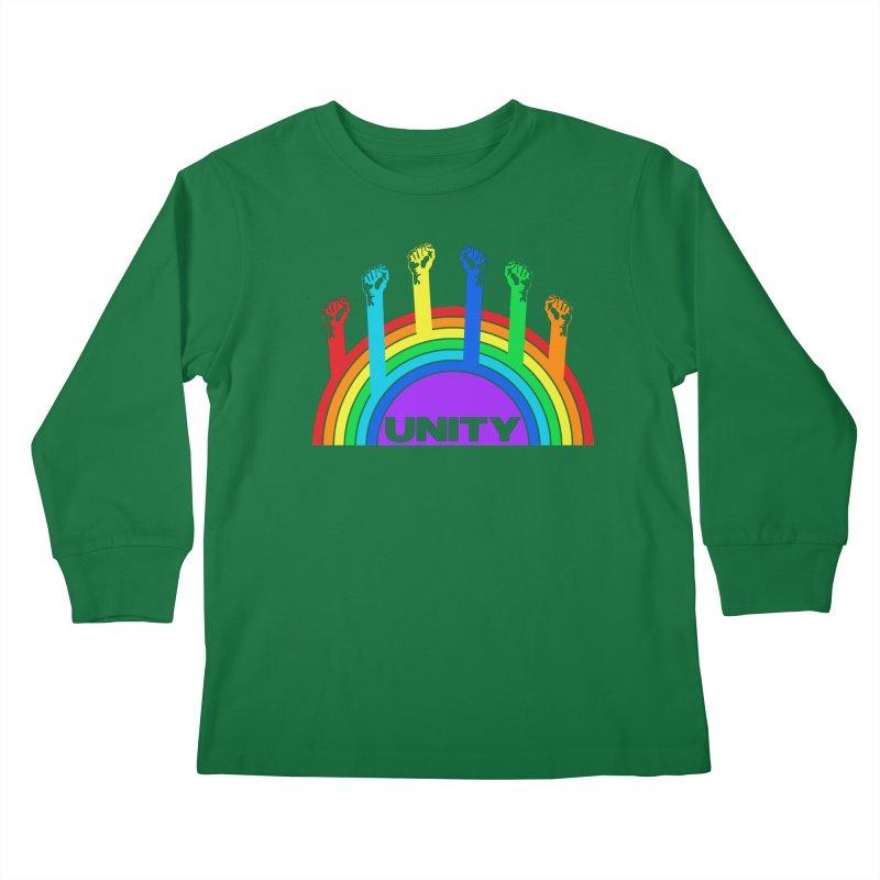 Unity Kids Longsleeve T-Shirt by donvagabond's Artist Shop