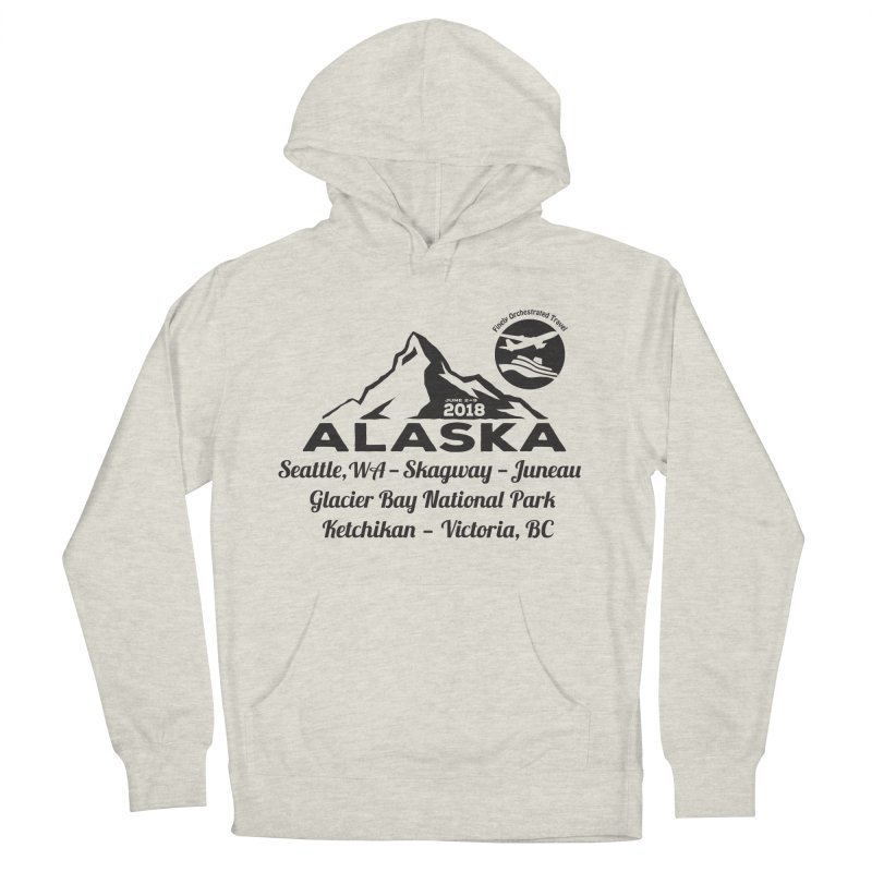 Finely Orchestrated Alaska Black Women's Pullover Hoody by donvagabond's Artist Shop