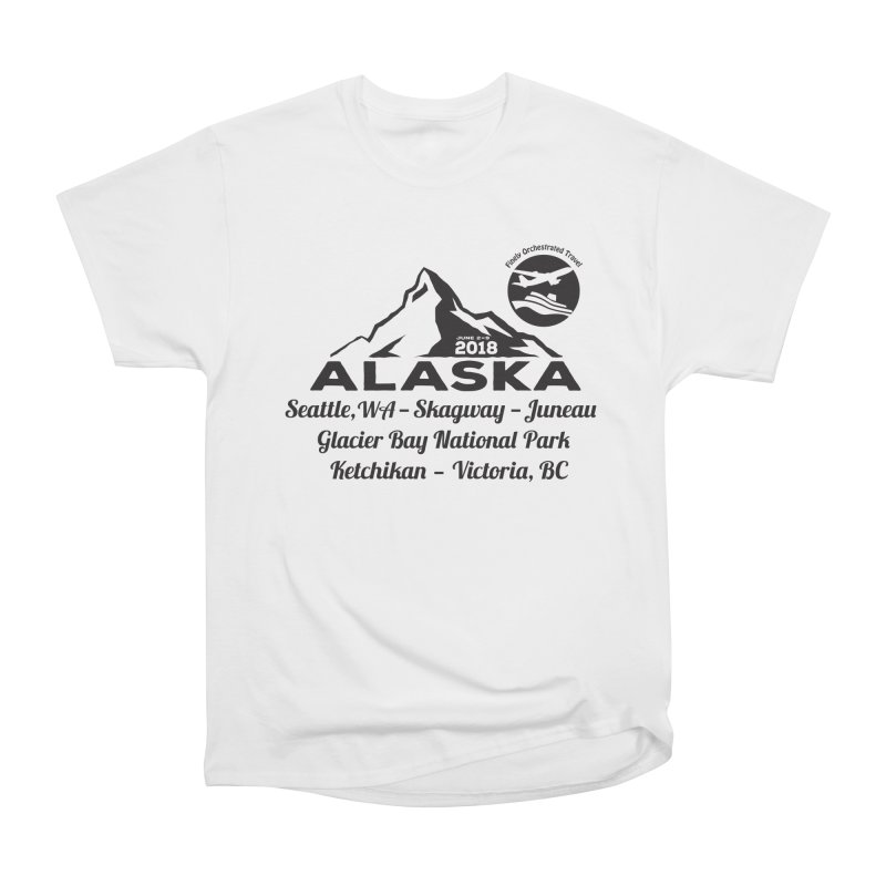 Finely Orchestrated Alaska Black Men's Classic T-Shirt by donvagabond's Artist Shop