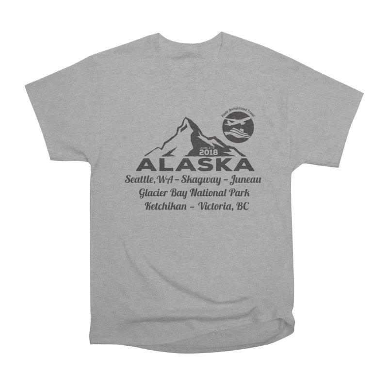 Finely Orchestrated Alaska Black Women's Heavyweight Unisex T-Shirt by Don Vagabond's Artist Shop
