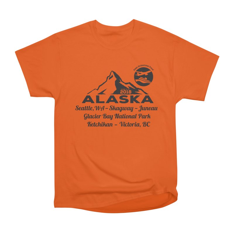 Finely Orchestrated Alaska Black Women's Heavyweight Unisex T-Shirt by Don Vagabond's Artist Shop
