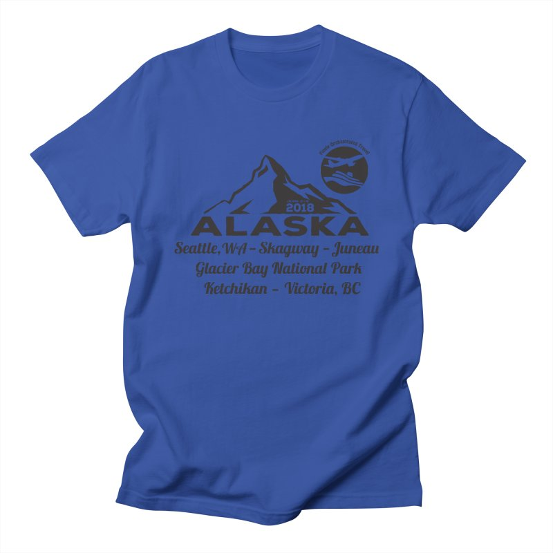Finely Orchestrated Alaska Black Women's Regular Unisex T-Shirt by Don Vagabond's Artist Shop