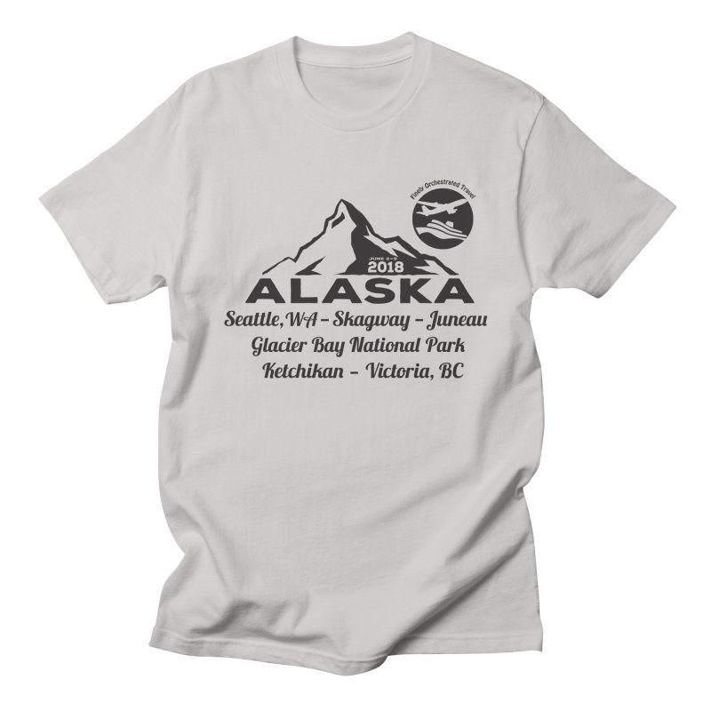 Finely Orchestrated Alaska Black Men's Regular T-Shirt by Don Vagabond's Artist Shop