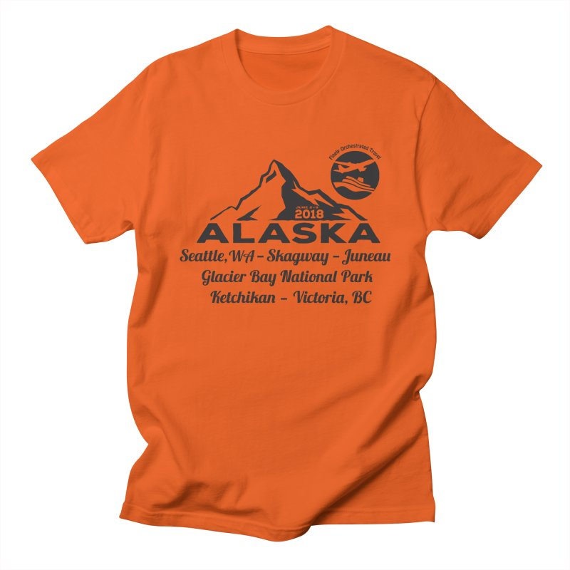 Finely Orchestrated Alaska Black Men's Regular T-Shirt by Don Vagabond's Artist Shop