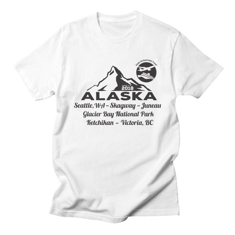 Finely Orchestrated Alaska Black Women's Unisex T-Shirt by donvagabond's Artist Shop