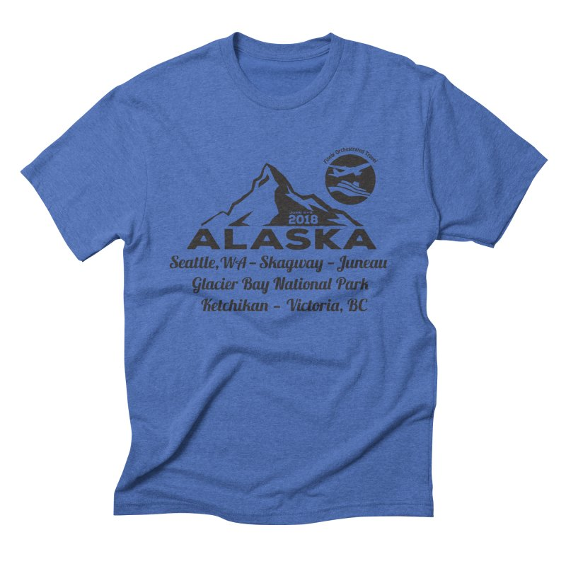 Finely Orchestrated Alaska Black Men's Triblend T-Shirt by Don Vagabond's Artist Shop