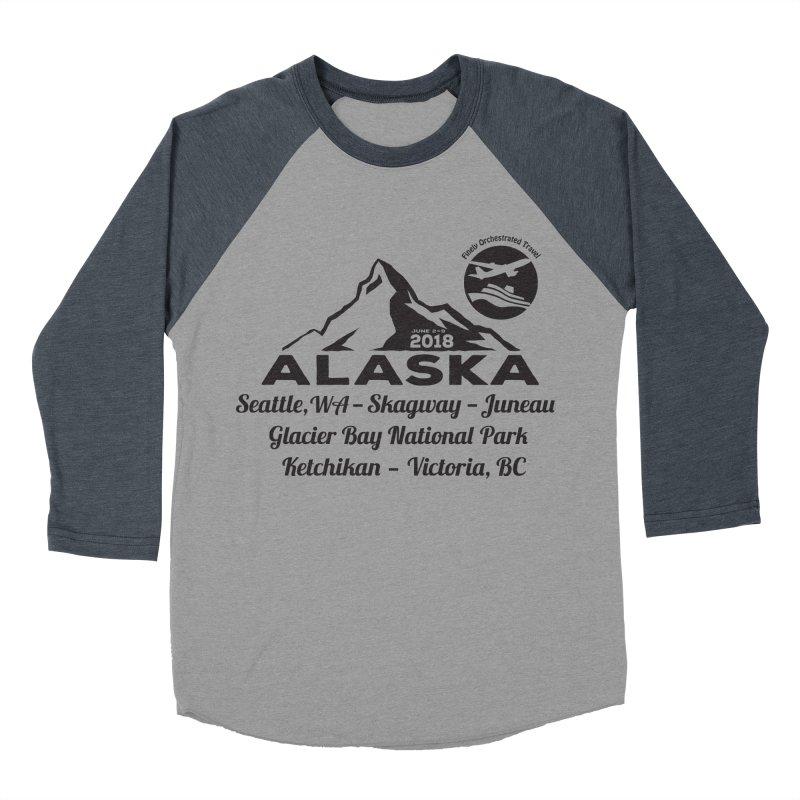 Finely Orchestrated Alaska Black Women's Baseball Triblend Longsleeve T-Shirt by Don Vagabond's Artist Shop