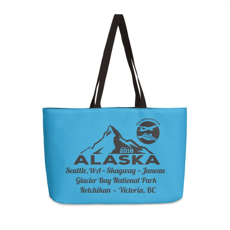 Finely Orchestrated Alaska Black Accessories Weekender Bag Bag by Don Vagabond's Artist Shop