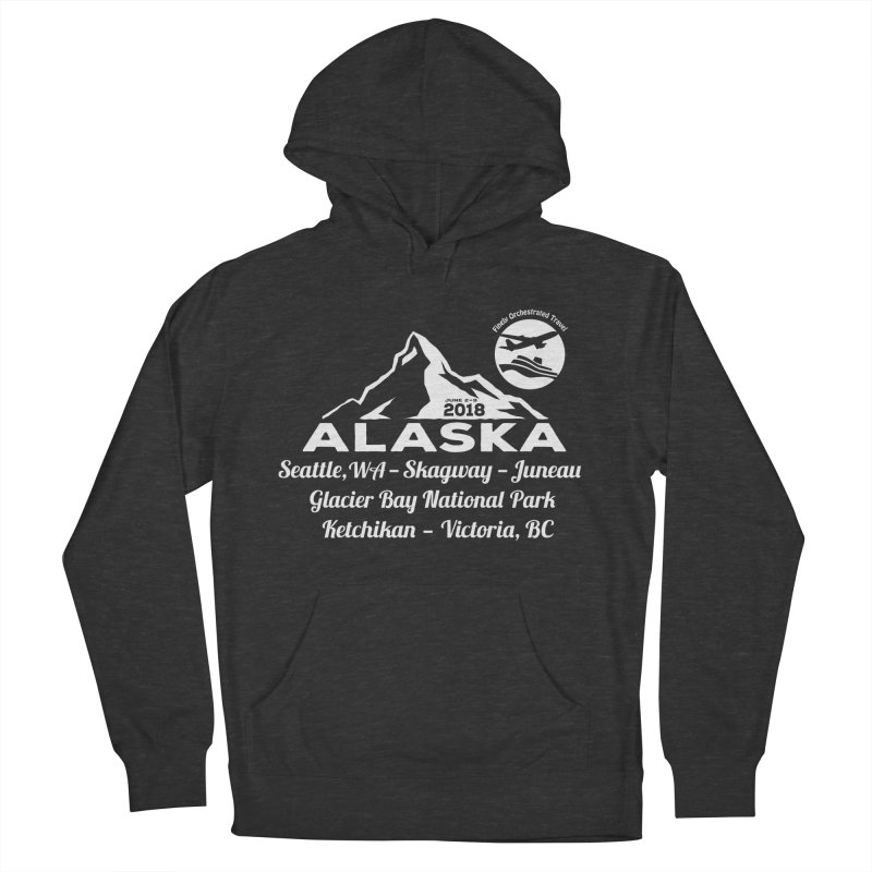 Finely Orchestrated Alaska Women's Pullover Hoody by donvagabond's Artist Shop
