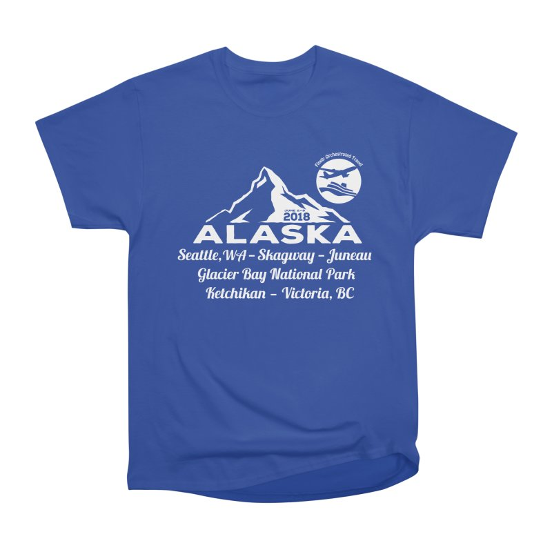 Finely Orchestrated Alaska Men's Classic T-Shirt by donvagabond's Artist Shop