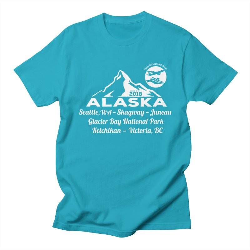 Finely Orchestrated Alaska Men's T-Shirt by donvagabond's Artist Shop
