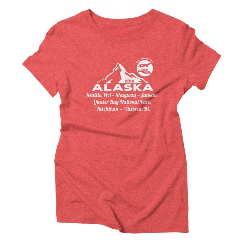 Finely Orchestrated Alaska Women's Triblend T-Shirt by donvagabond's Artist Shop