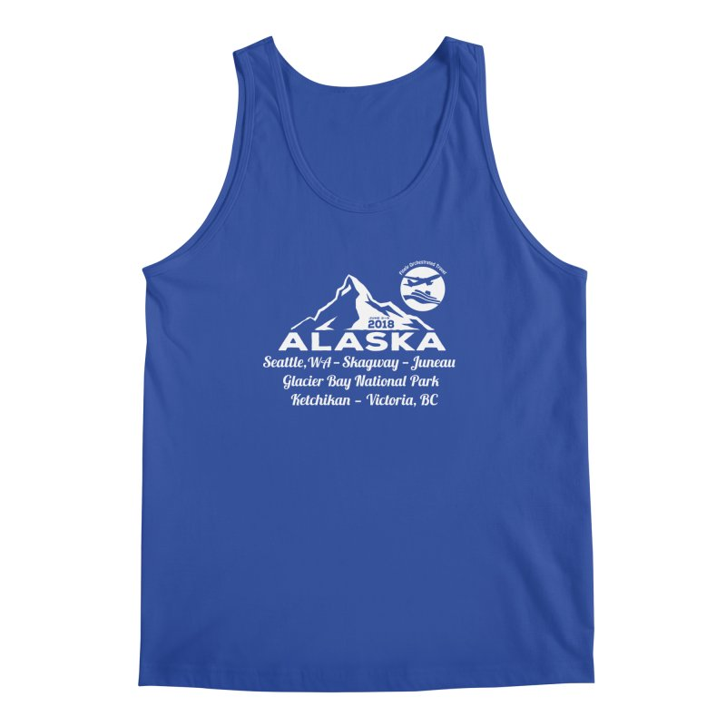 Finely Orchestrated Alaska Men's Tank by donvagabond's Artist Shop