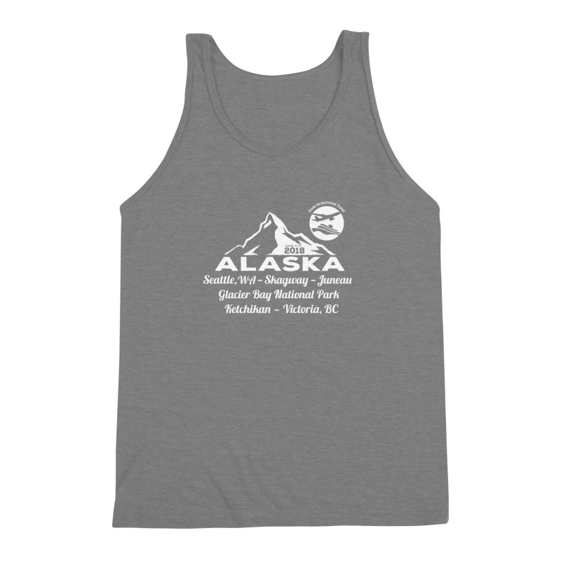 Finely Orchestrated Alaska Men's Triblend Tank by donvagabond's Artist Shop