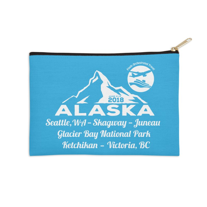 Finely Orchestrated Alaska Accessories Zip Pouch by donvagabond's Artist Shop